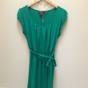 ASOS Maternity Green Tie Back Dress Size 8 US
